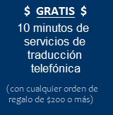 Receive ten minutes of FREE Live Interpreter Sevice